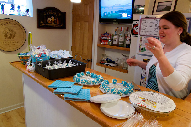 Celebration party for Alexander James, look at the treats