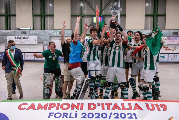 Finale 1°/2° posto: AFP Giovinazzo vs Follonica Hockey