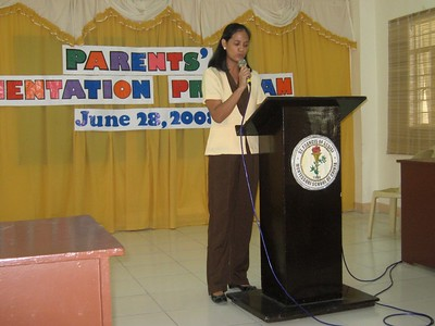 2008 Parents' Orientation