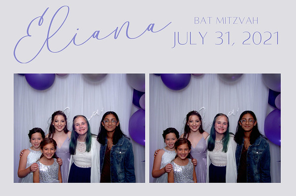 Eliana/Bat Mitzvah 7.31.21