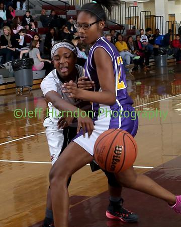 UGMS Basketball Girls 7th and 8th grade 1-27-15