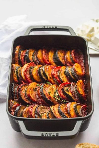 Briam (Greek Vegetable Bake)