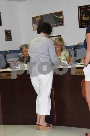 School Board Recognizes Retirees - June 2011