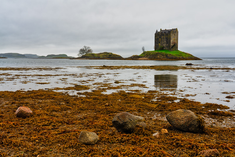 Castle Stalker, Scottish Highlands