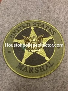 MARSHAL BADGE PATCHES