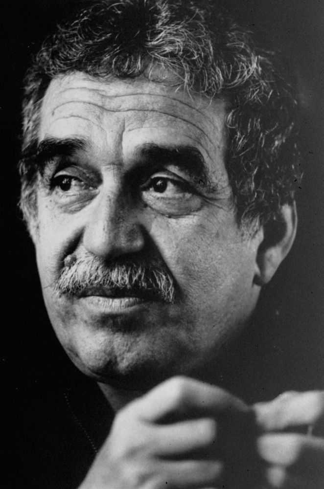 . This undated file photo of Colombian Nobel laureate Gabriel Garcia Marquez is seen in an unknown location. Marquez died Thursday April 17, 2014 at his home in Mexico City. (AP Photo/Hamilton, File)