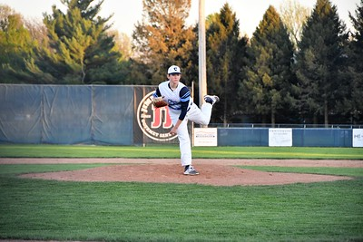 Centennial Baseball VS Central April 2019--Ben Hannauer Pitching