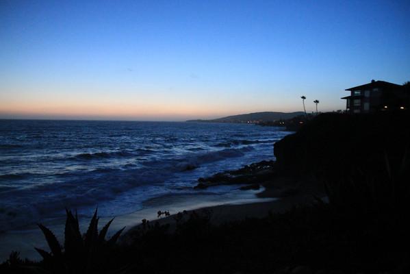Laguna Beach Late Sunset