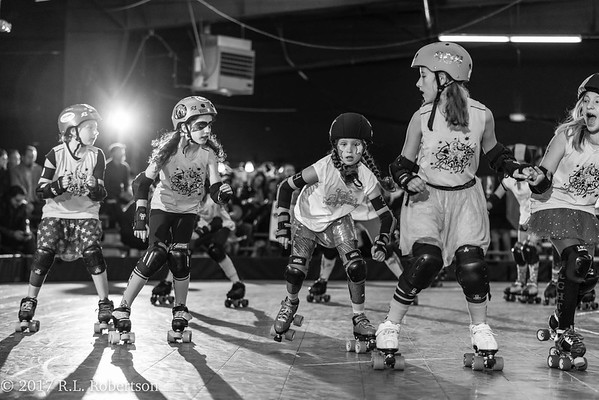Turquoise Terrors vs. Lemon Drops (Tootsy Rollers - Positional Derby)