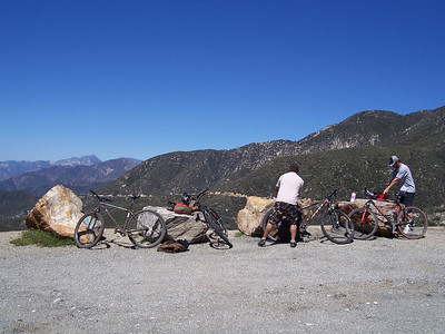 Sunset Peak Ride 4/5/09