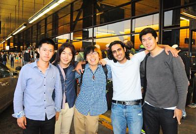 Fumito at airport   9-1-13