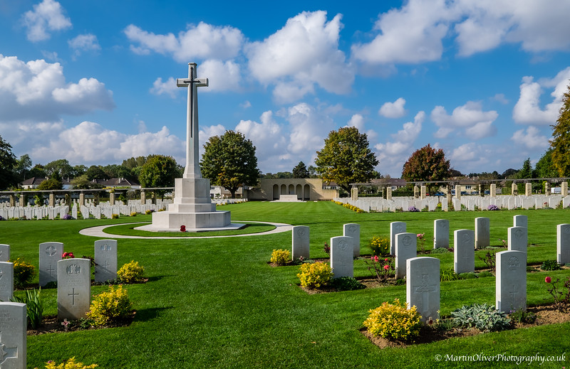 Ranville Commonwealth Cemetery & Church, Normandy
