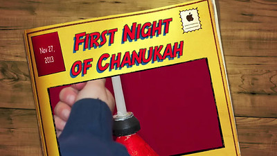 First Night of Chanukah Nov 27 2013 slide show