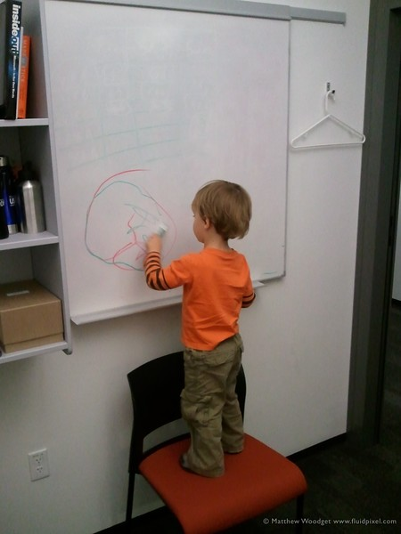#208 - Visiting Daddy at the office