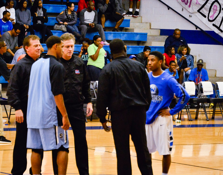 Basketball Varsity vs  Mansfield Seguin 11-11-13