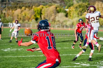 Football JVSHS vs Maple Mountain 10-23-2014