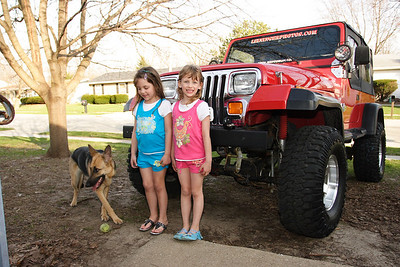 The Girls, Miranda & The Jeep