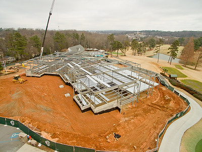 Greenville Country Club Drone Aerials