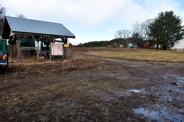 2/7/2020 Mike Orazzi | Staff Vacant farmland on the East side of Bristol off Route 6.