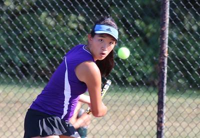 Sept 14, 2016 Girls Tennis vs EB Bears