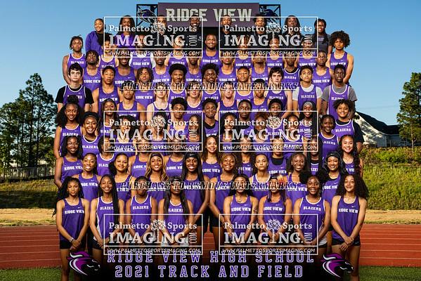2021 Ridge View Track Team and Individuals