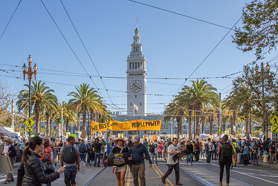 Sep 08 RISE Climate March in SF.  Unifying Moment and Start of March.