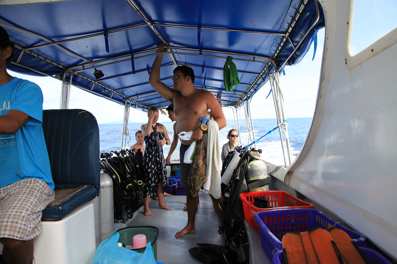 Nasza łódź nurkowa