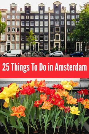 Click to save these Amsterdam Travel Tips!