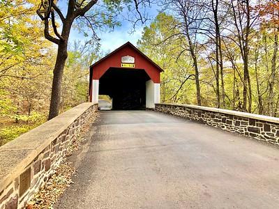 FRANKENFIELD COVERED BRIDGE, BUCKS COUNTY, PA