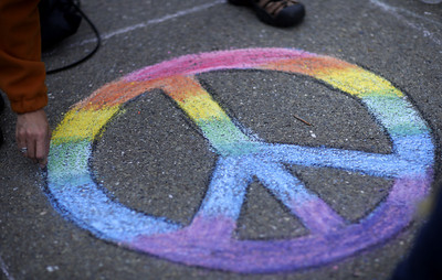 PAINTS presents CHALK4PEACE at Beach Elementary School, Piedmont, CA