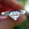 1.10ct Old Mine Cut Diamond, GIA J VVS2 4
