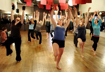Boom Dance Rehearsal