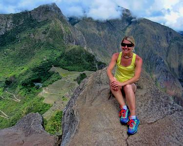 Amy In Peru
