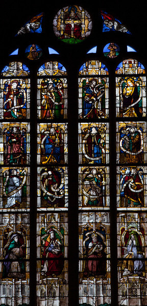 Beaumont-le-Roger - Apostles with Their Creeds & Prophets