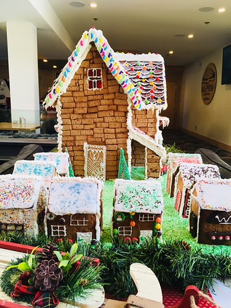 Caribou Gingerbread House