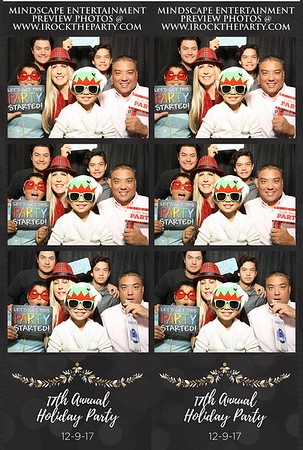 17th Annual Christmas Party-Photo Booth Pictures