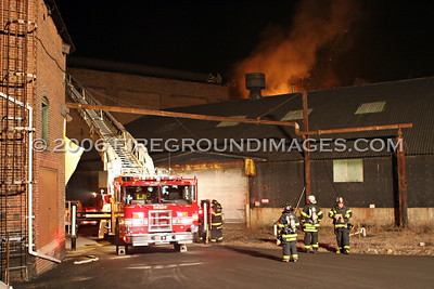 Ansonia Copper and Brass Factory Fire (Ansonia, CT) 2/8/06