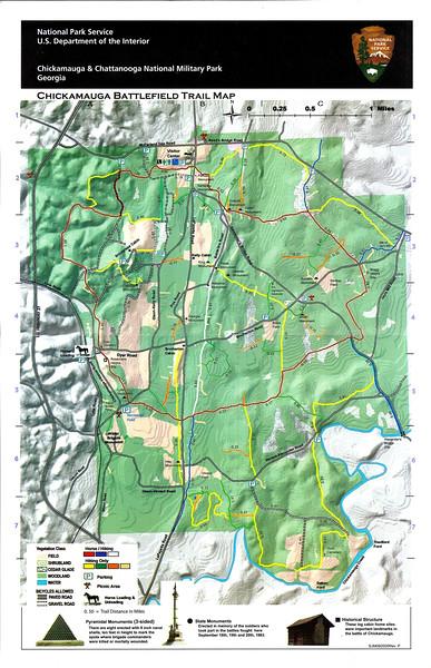 Chickamauga & Chattanooga National Military Park (Chickamauga Battlefield Trails)