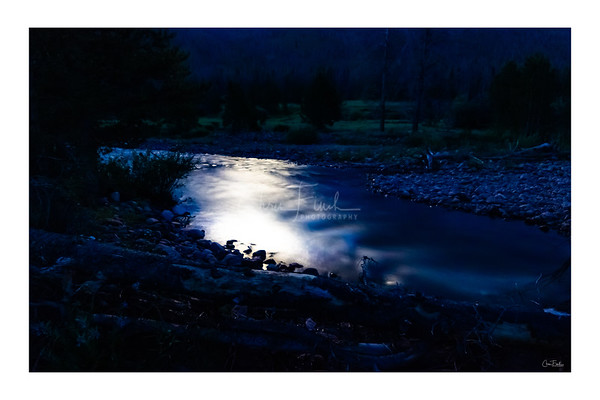 East Fork Blacks Fork River Moonshine
