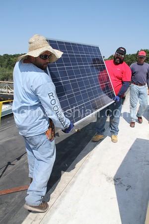 Firestone - Solar Panel Installation - August 31, 2012