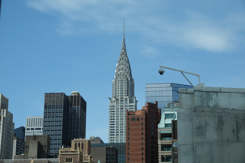 The Chrysler Building from the United Nations.