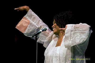 Nnenna Freelon Photos - The Zellerbach Theater, Philadelphia April 1, 2011