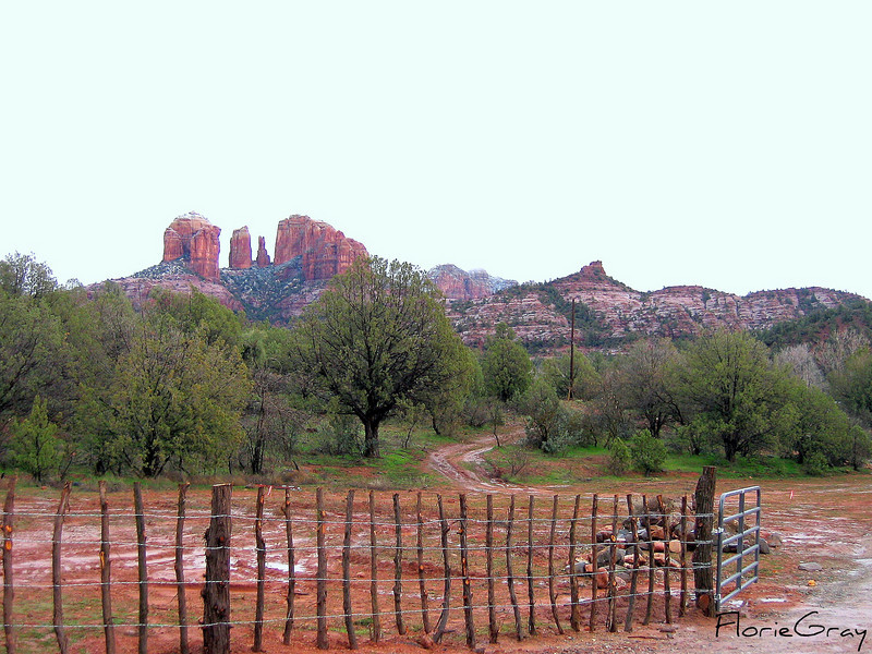 Lovely Fence, Boynton Canyon, AZ 