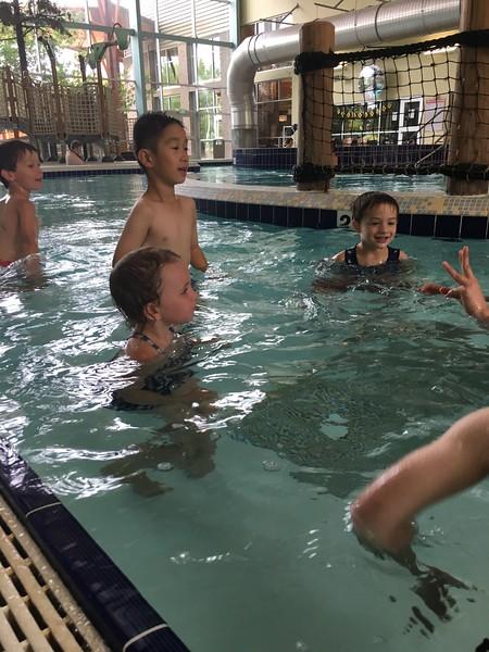 Swim Lesson Fun!