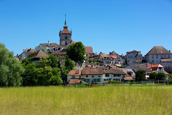 A Summer Day in Estavayer