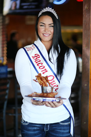 May I present to you this year's Blue Ribbon Bacon Queen ... Courtney Dettmer