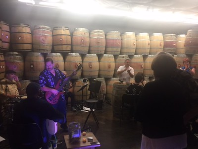 Wine and Jazz Fundraiser at Carruth Cellars