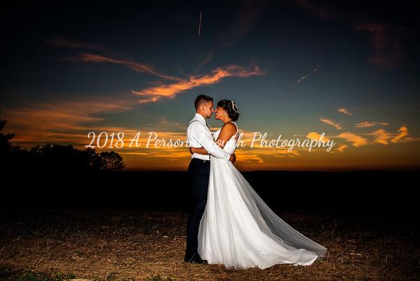 Rachel and Derek's wedding