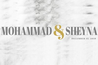 Mohammad & Sheyna 12/15/19