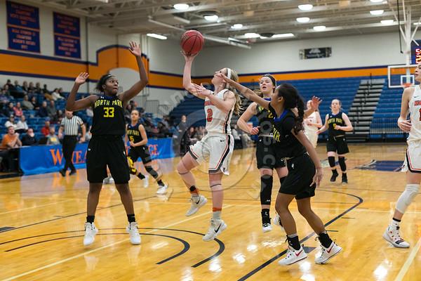 Wheaton College Women's Basketball vs North Park University, January 19, 2019